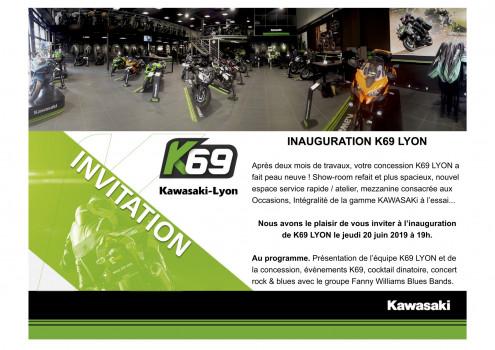 INAUGURATION K69 KAWASAKI-LYON