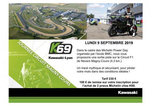 STAGE DE PILOTAGE CIRCUIT DE MAGNY-COURS F1